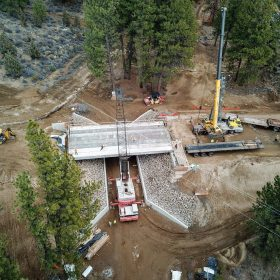 Discovery West Bridge Construction
