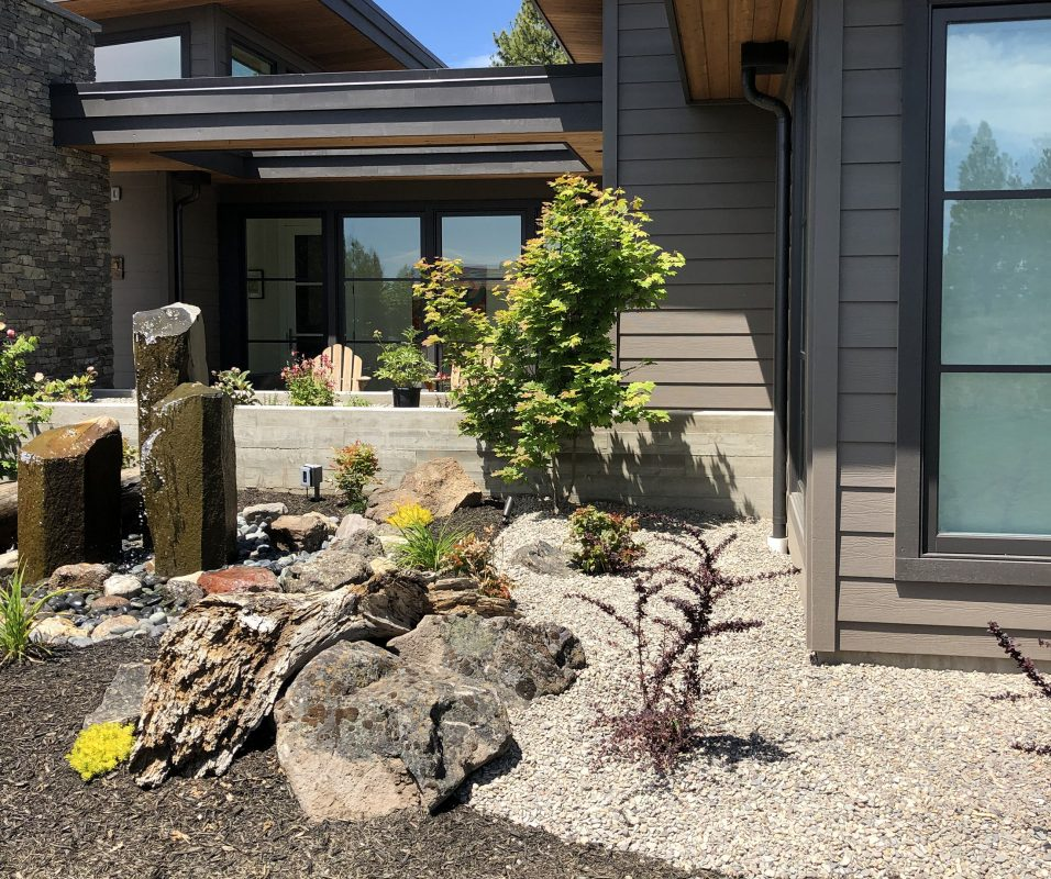 firewise landscaping example